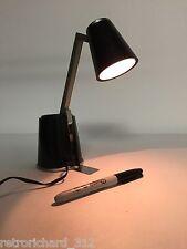 RARE Vtg Mid Century Koch LAMPETTE Adjustable Portable Desk Office Lamp Light