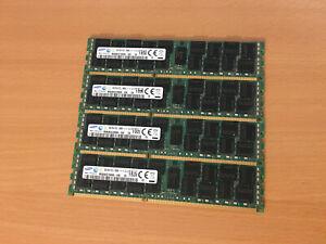 64GB 4x16GB Samsung DDR3L-12800R Registered ECC RAM DDR3-1600