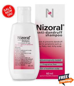 Anti Dandruff Shampoo For All Types Hair Flaky Itchy Scalp Treatment Nizoral