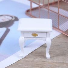 1:12 Dollhouse wooden miniature bedside cupboard dolls mini furniture modern Gx