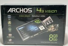 Nuevo Archos 43 Vision 8GB MP3/MP4 reproductor multimedia digital/Visor De Fotos