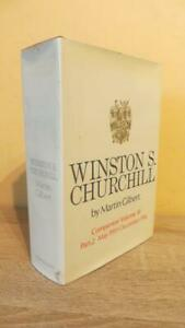 """1972 """"WINSTON S CHURCHILL"""" by M GILBERT -  COMPANION VOLUME 3 - PART TWO -SIGNED"""