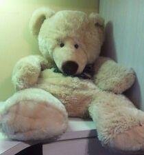 "Tan Teddy Bear Plush Jumbo 40"" Golden  stuffed animal toy boys girls"