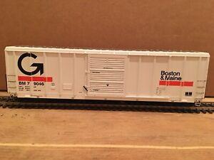 HO Athearn Boston & Maine Guilford 50' Boxcar B&M #79046 MEC VTR Pan Am CSX CP
