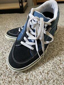 Vans Bearcat Canvas Blue Men's Size 7 Skate shoes