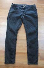 EUC~Junior's MUDD Slim Fit Straight Leg Black Jeans~Size 13~ 34 x 29