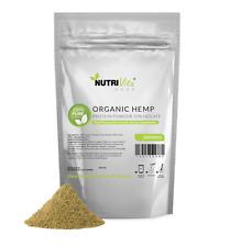 2lb 100% Pure Organic Hemp Protein Powder 50% Isolate USDA nonGMO High Fiber