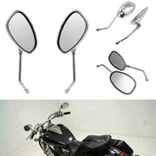 10Mm Chrome Motorcycle Rear View Side Mirrors For Honda Shadow 750 Vtx1300C Ky3 (Fits: More than one vehicle)