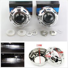 2 Pcs 3'' HID Bi-Xenon Car Truck Projector Lens Headlight Retrofit Kit H1 H4 H7