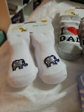 12-24 MONTHS LOT OF BABY SOCKS NEW LOT OF 9 PAIRS