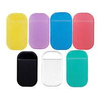 Lot 5Pcs Car Magic Anti-Slip Dashboard Sticky Pad Non-slip Mat GPS Phone Holder