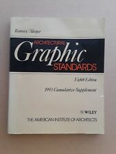 Architectural Graphic Standards Ramsey/Sleeper Eighth Edition (1993) Architects