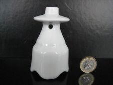 More details for vintage white pottery pie funnel baking bird vent unusual platform shaped disk