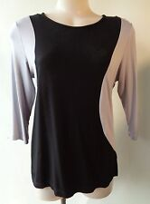 New Brown Sugar size 10 black & grey top NWT RRP $59.95 3/4 sleeve