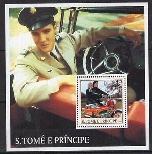 Sao Tome - Elvis Presley - Briefmarken - timbres  MNH** Del.5