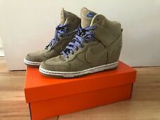 Nike Dunk Sky Hi   Suede Wedge Filbert-Bamboo Boots   EUR 40,5   UK 6,5