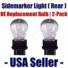 Sidemarker (Rear) Light Bulb 2pk - Fits Listed Ford Vehicles - 3157