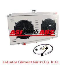3 core Radiator+Shroud Fan For Nissan PATROL Y61 GU 2.8 3.0 RD28 ZD30 CR Diesel