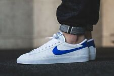 Mens Nike Tennis Classic AC White and Racer Blue Leather Trainers UK size 9 44