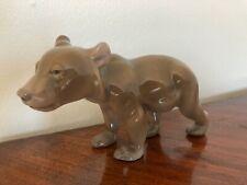 Bing and Grondahl B&G Brown Bear walking figurine #1804