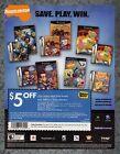 Nickelodeon Nintendo GameCube Best Buy Coupon Print Ad Original Art 7.75x10.50