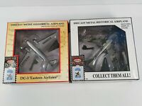 LOT OF TWO MODEL POWER PLANES 1:100 SCALE, DIECAST  VERY NICE CONDITION