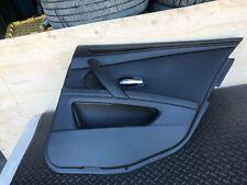 BMW E60 E61 OEM REAR PASSENGER RIGHT SIDE INNER DOOR CARD COVER PANEL