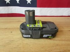 Ryobi one+ 2.0Ah 18V 18-Volt Lithium-Ion Compact Battery Pack P190