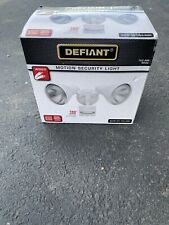 DEFIANT 180 degree Motion Security Light White PAR38 Bulb Type 120V 703 499