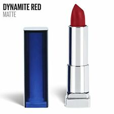 Maybelline Color Sensational Red Lipstick Matte Lipstick, Dynamite Red