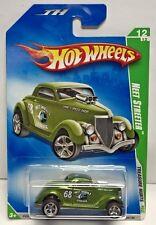 Hot Wheels 2009 Super Treasure Hunt - Green Neet Streeter Real Riders #12 of 12