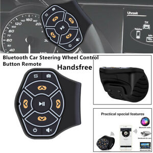 Bluetooth Car Multimedia Player Remote Control Button Handsfree For Android ios