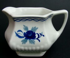 Vintage Adams Blue Baltic 160ml  Coffee Cream or Small Size Milk Jug 7cmh in VGC