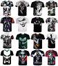 Summer Women/men JOKER funny 3D print Short Sleeve Casual Tops T-Shirts S-5XL L3