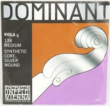 Dominant 138 Viola G Silver Wound String Thomastik Strings Orchestral