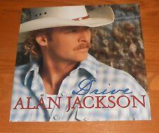 Alan Jackson Drive Poster 2-Sided Flat Square 2002 Promo 12x12