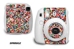 Custom Skin Sticker Wrap Decal For Fujifilm Instax Mini 8 Instant Camera SPRINKL