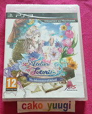 ATELIER TOTORI THE ADVENTURER OF ARLAND SONY PS3  VERSION FRANCAISE NEUF