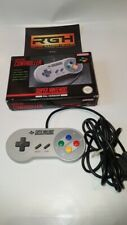 OFFICIAL SUPER NINTENDO SNES CONTROL PAD BOXED TESTED WORKING VERY GOOD CON