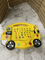 Leap Frog My First Leap Pad Learning System 2004 School Bus Books Backpack