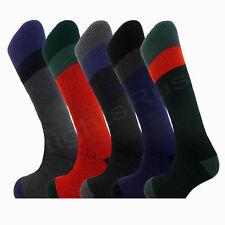 3 Pairs Men's Thermal Ski Socks Padded Long Length Tog 2.3 Size UK 6-11 -