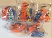 McDonald's Happy Meal Toys Hot Wheels Cars Lot Of 5 New 1,2,3,4,6