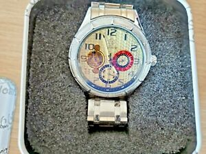 Stainless Steel Fuyate Men's Mechanical Automatic Watch