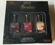 NEW! Deborah Lippmann TRUE BLOOD Forsaken Nail Lacquer polish Trio Bad Things