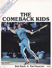 1980 THE COMEBACK KIDS   WORLD CHAMPION PHILADELPHIA PHILLIES  SCHMIDT ON COVER