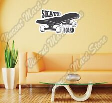 "Skateboard Deck Skateboarding Extreme Wall Sticker Room Interior Decor 25""X16"""