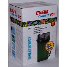 FILTRO EXTERNO EHEIM CLASSIC 600 +EHEIM PLUS. CON LLAVES Y MATERIAL FILTRANTE.
