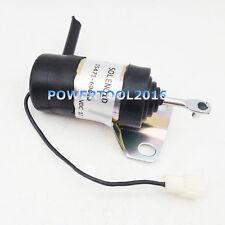 Fuel Shutoff Solenoid for Kubota L3410 L3450 L3600 L3650 L3710 L3750 L4150 L4200