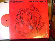 MINT/M- 1986 PRIVATE PRESS Hard ROCK AOR LP~THE WORKS~VICIOUS CIRCLE~WICKENDEN