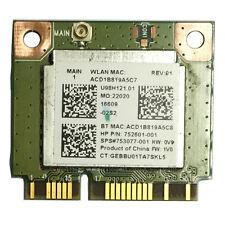 Realtek RT8723BE 802.11bgn 1x1 Wi-Fi + BT4.0 Combo Adapter 753077-001 HP 250 G3